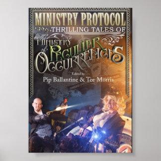 Poster del protocolo del ministerio