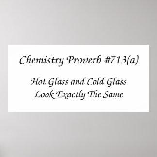 Poster del proverbio de la química