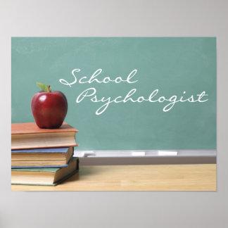 Poster del psicólogo de la escuela