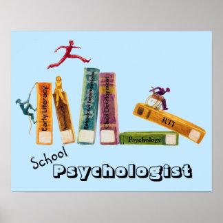 Poster del psicólogo de la escuela póster