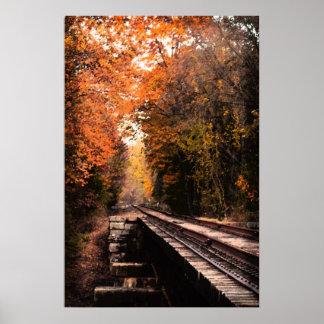 Poster del puente del ferrocarril