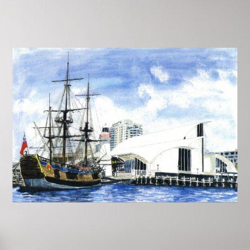 """""""Poster del puerto de Sydney"""""""