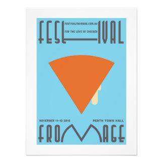 """Poster del queso de """"Epoisses"""" - mínimo Fotografía"""