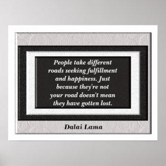 Poster del _Quote de Dalai Lama