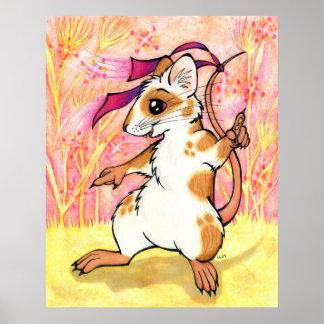 Poster del ratón de la boogie