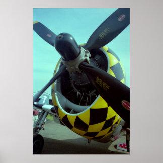 Poster del rayo P-47