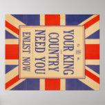 Poster del recluta de Union Jack