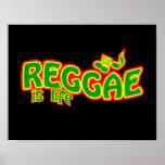 Poster del reggae