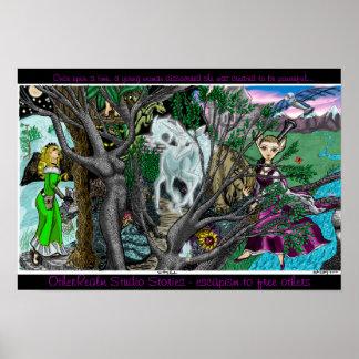 Poster del reino de la fantasía