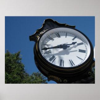 "¡""Poster del reloj! "" Póster"