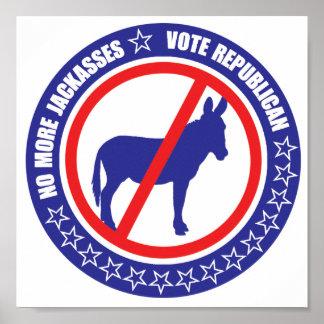 poster del republicano del voto póster
