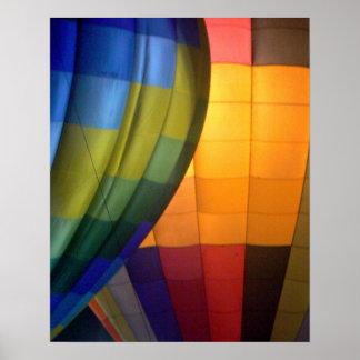 Poster del resplandor 2 del globo