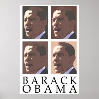 Poster del retrato de Barack Obama