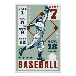 Poster del Retro-Béisbol