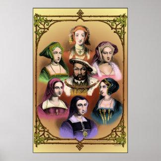 Poster del rey Enrique VIII