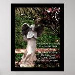 Poster del rezo del ángel y de la serenidad