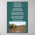 Poster del rezo del soldado