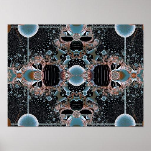 Poster del rhomb del fractal