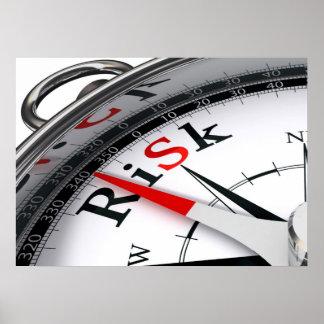 Poster del riesgo
