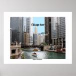 Poster del río Chicago