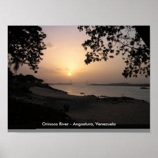 Poster del río Orinoco