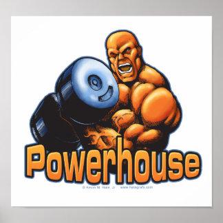 Poster del rizo de la central eléctrica