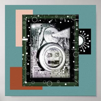 poster del robot del eco póster