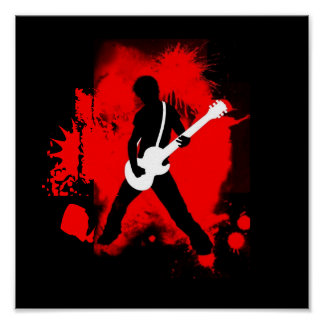 Poster del rock-and-roll