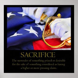 Poster del sacrificio