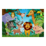 Poster del safari póster