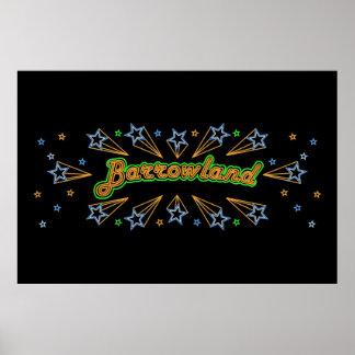 Poster del salón de baile de Barrowlands