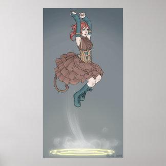 Poster del salto del viento