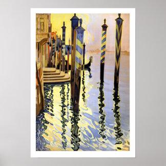 Poster del Semi-lustre 16x22.83 de las reflexiones