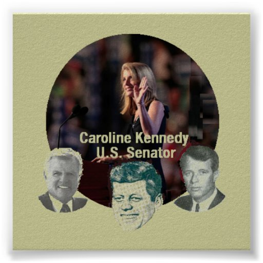 Poster del senado de KENNEDY