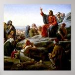 Poster del sermón de la montaña