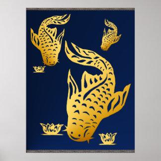 Poster del siluro del oro tres