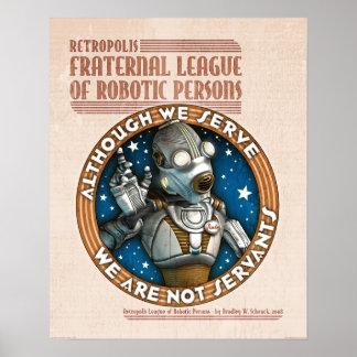 """Poster del sindicato del robot (16x20"""")"""