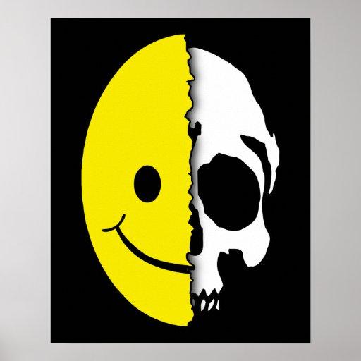 Poster del smiley de Shreaded