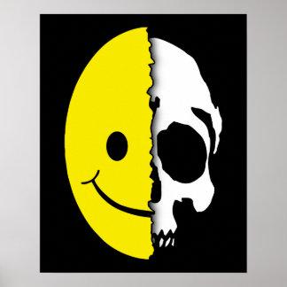 Poster del smiley de Shreaded Póster