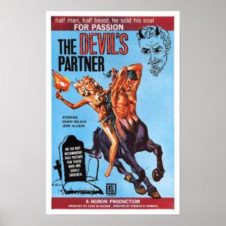 """Poster """"del socio del diablo"""""""