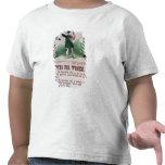 Poster del sufragio de las mujeres camisetas