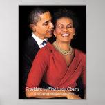 Poster del susurro de Obama