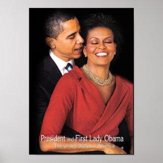 Poster del susurro de Obama Póster