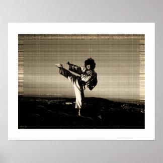 """Poster del Taekwondo de la """"foto vieja"""""""
