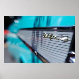 ' Poster del Tailfin de 57 Chevy