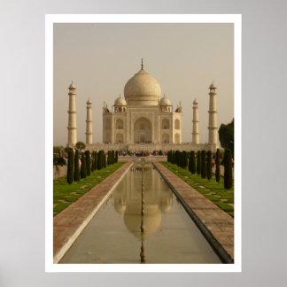 Poster del Taj Mahal