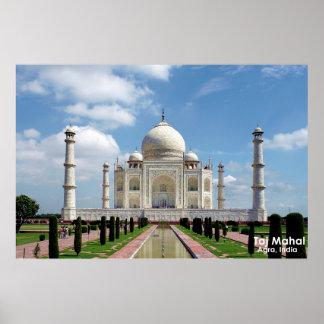 Poster del Taj Mahal Póster