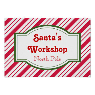 Poster del taller de Santa
