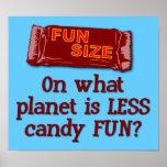 Poster del tamaño de la diversión