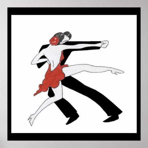 Poster del tango de los años 20